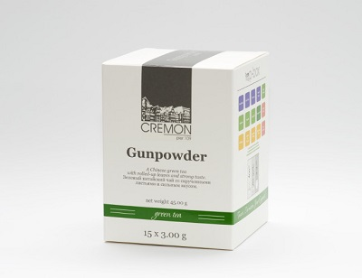 Cremon Tea Gunpowder P-Box