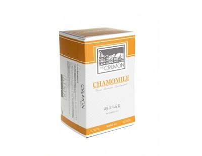 s-box chamomile cremon tea